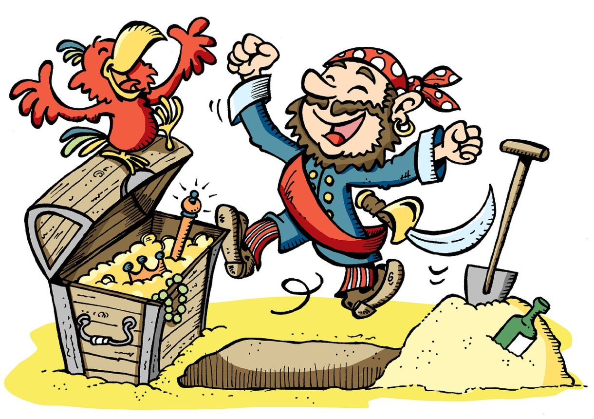 海賊のイラスト