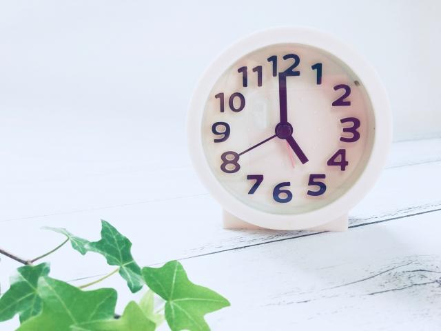 目覚まし時計の写真